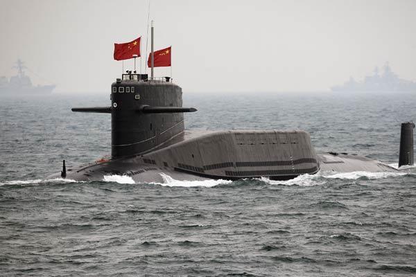 China desarrolla un submarino de alta velocidad