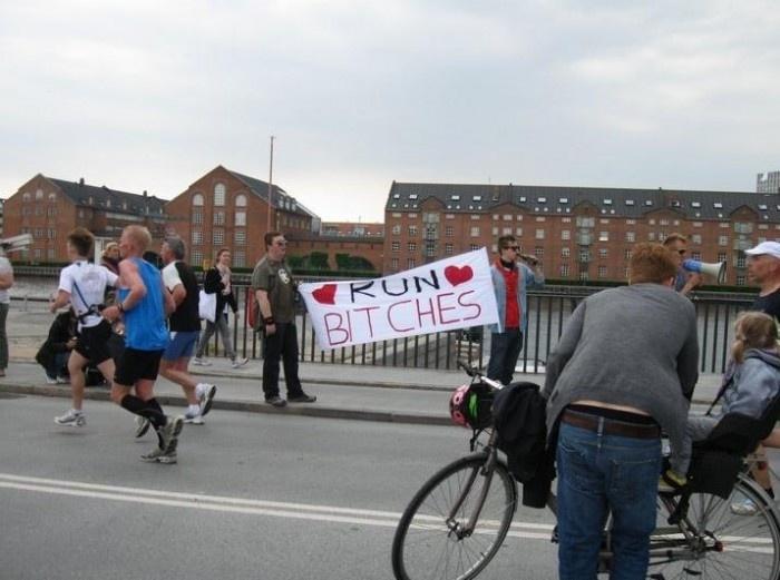 How To Cheer Up Marathon Runners