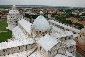 The Duomo of Pisa from above