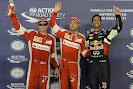 2015 Singapore Podium: 1. Vettel 2. Ricciardo 3. Raikkonen