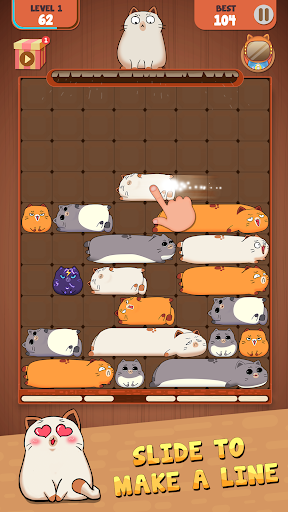 Haru Cats: Slide Block Puzzle filehippodl screenshot 6