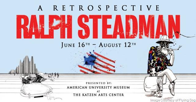 Artist Ralph Steadman Coming To The U.S.