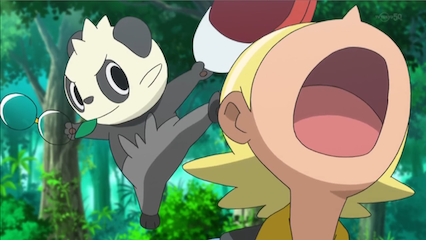 pancham steals hat glasses