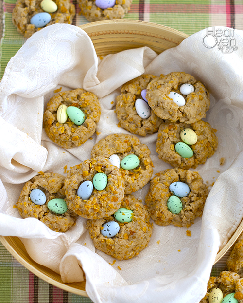 spring nest cookies