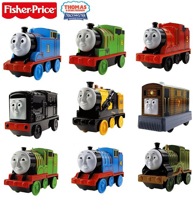 Mô hình các bạn Tàu hỏa Thomas & Friends chạy pin Fisher Price BJP09