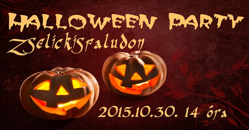Halloween party Zselickisfalud IKSZT 2015.