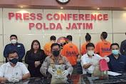 Polda Jatim ringkus 4 pengedar narkotika jenis sabu