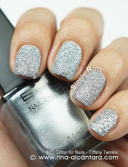 BYS Glitter for Nails - Tiffany Twinkle