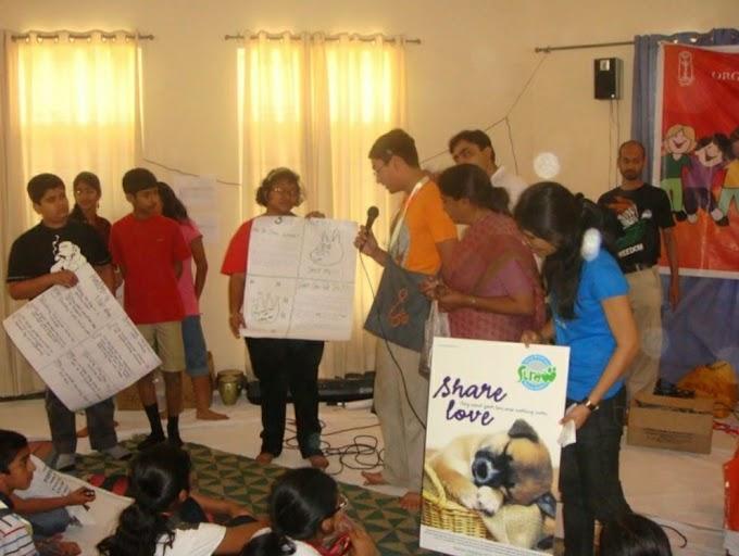 """विश्व पशु कल्याण दिवस पर वर्कशॉप """"तरंग"""" का आयोजन"""