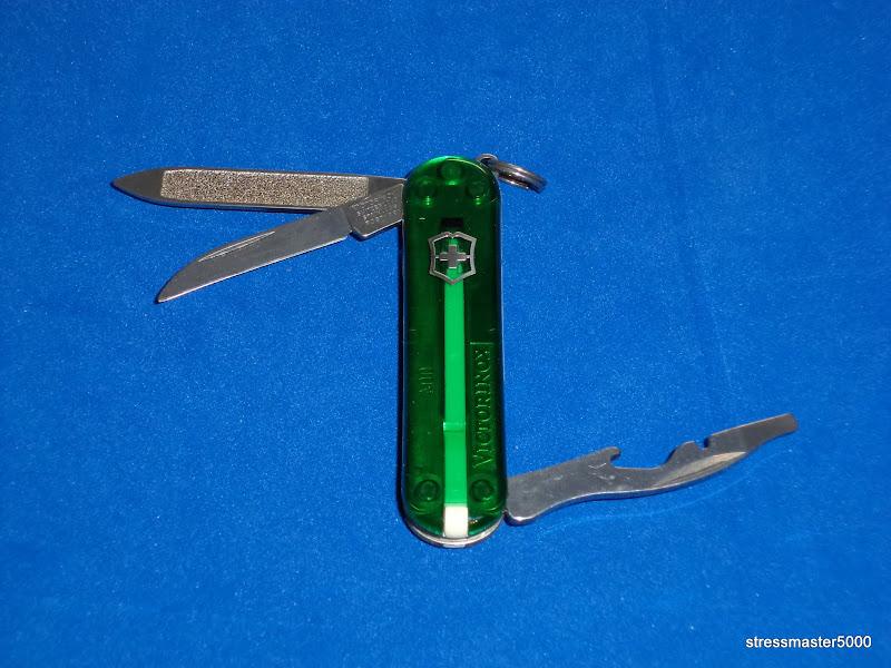 I Love Sak S Victorinox Emergency Blade Rover Emerald Green