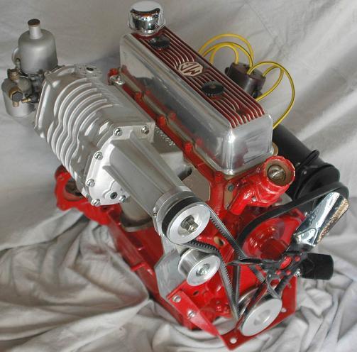Opala V8 Supercharger