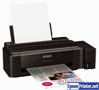 Reset Epson L120 printer by resetter program