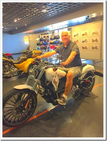 Paul motorcycle