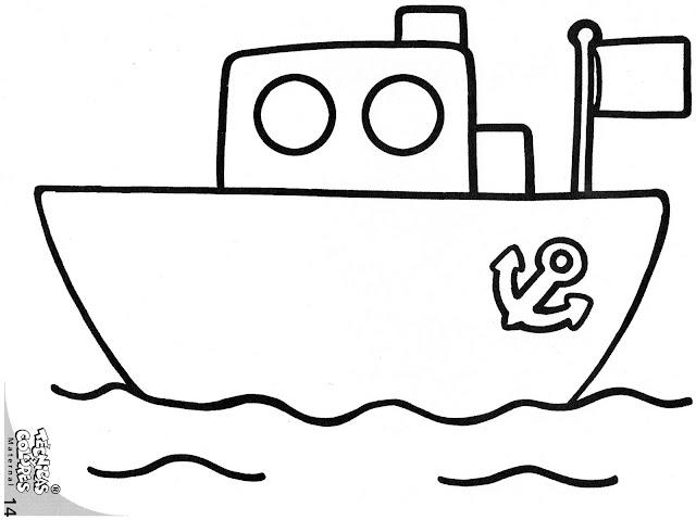 Dibujos Infantiles De Barcos Para Niños