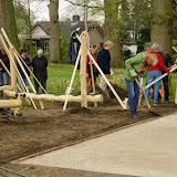 Spelen en ontmoeten in het Oldenhofpark - Foto's van 7, 8 en 25 april