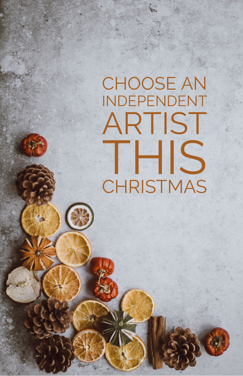 choose an independent visual artist this Christmas