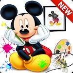 Coloriage pour enfants disney Icon