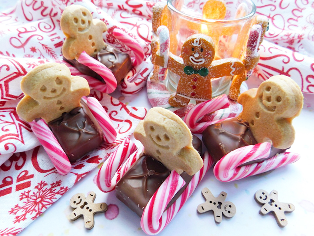 Sledging Gingerbread Men Foodie Quine Edible Scottish