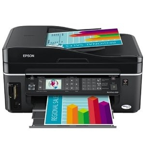 Drivers & Downloads Epson WorkForce 600 printer for Windows OS