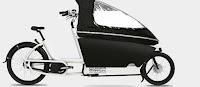 Urban Arrow lastcykel väderskydd