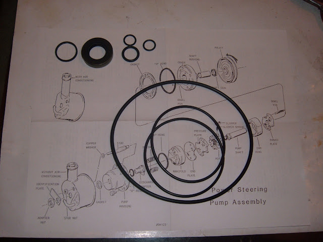 PSK-02  P/S pump reseal kit, most 59-66 pumps 34.00.