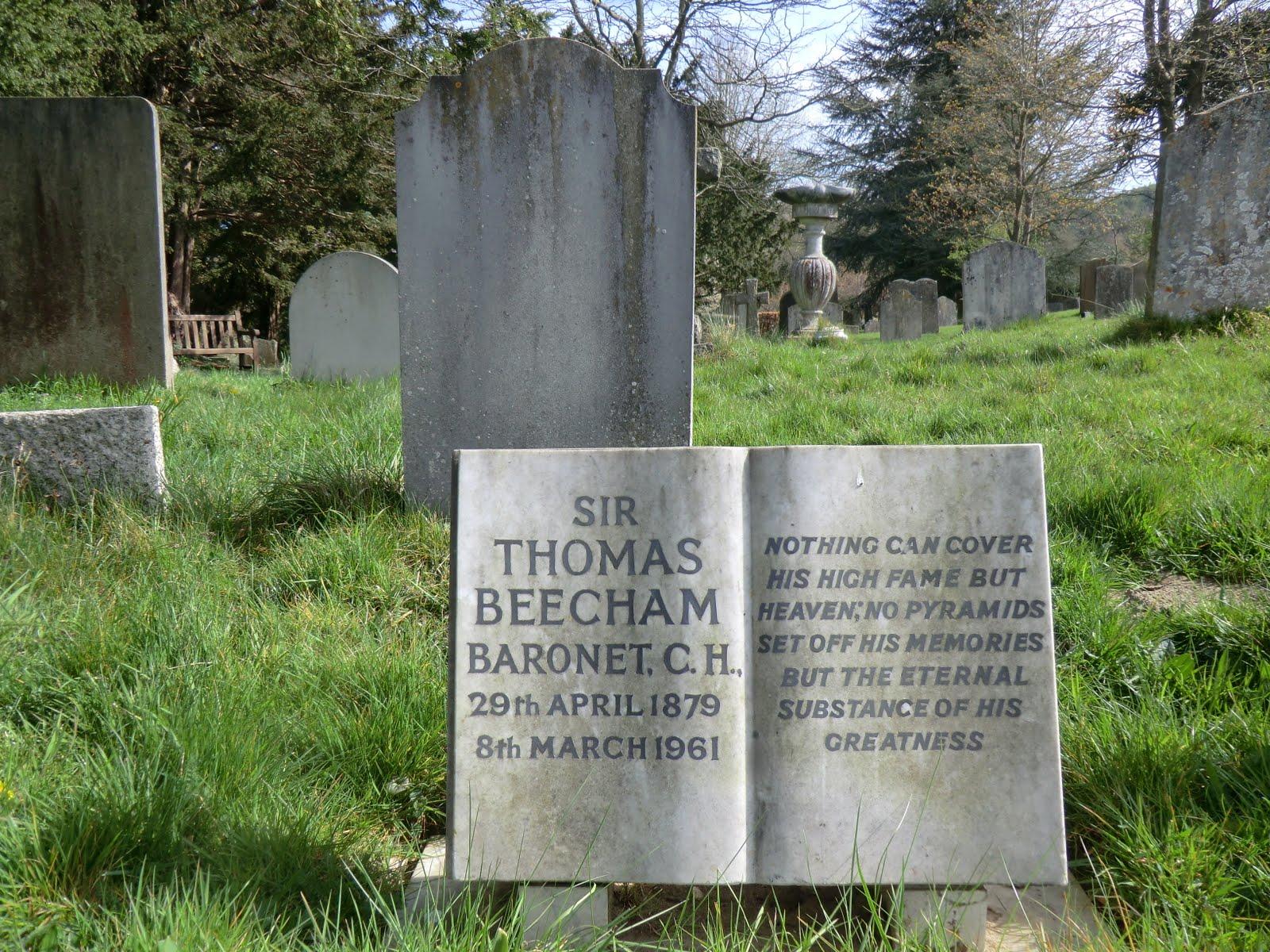 CIMG0324 Beecham memorial, Limspfield church