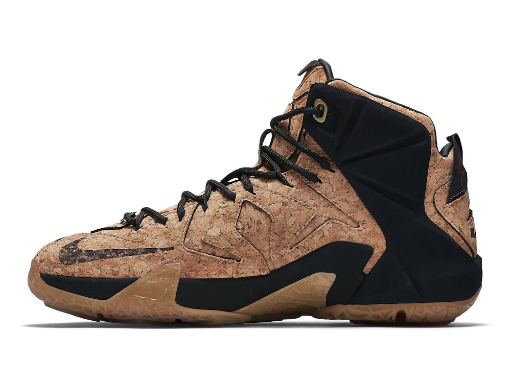 premium selection e5ac1 d169b ... Release Reminder Nike LeBron 12 EXT Kings Cork Close Ups ...
