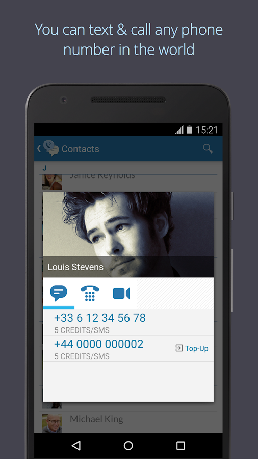 Text Me - Free Texting & Calls- screenshot