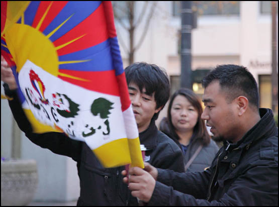 Self-Immolations in Tibet: Candle Vigil in Downtown Seattle - IMG_0010%2B1-28-12%2B72Cc%2BCandle%2BVigil.jpg