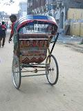 A typical Indian rickshaw