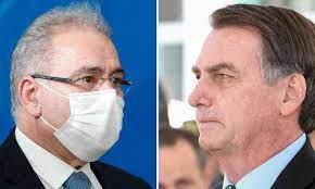 Bolsonaro deixa Queiroga numa sinuca de bico, forçando o ministro a pedir demissão