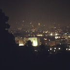 Evening view from Runyon Canyon.