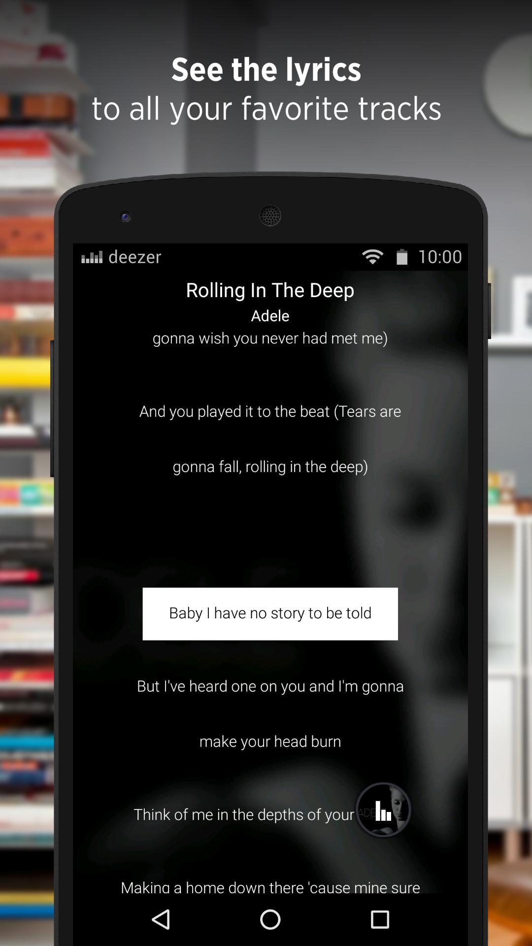 Deezer - Songs & Music Player screenshot #4