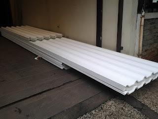 pemasangan kanopi atap alderon di bekasi