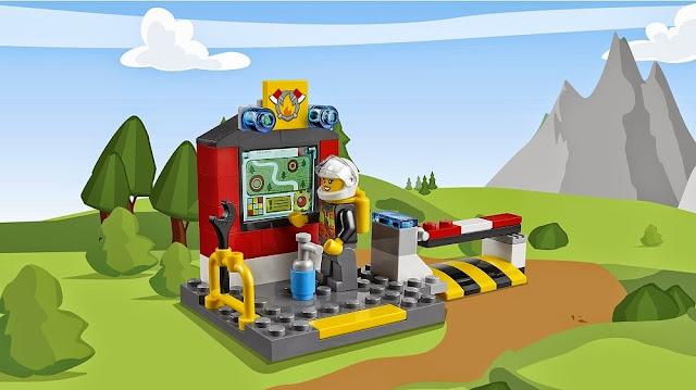 Đồ chơi xếp hình Lego Juniors 10685 Vali Cứu hỏa Fire Suitcase hấp dẫn lôi cuốn