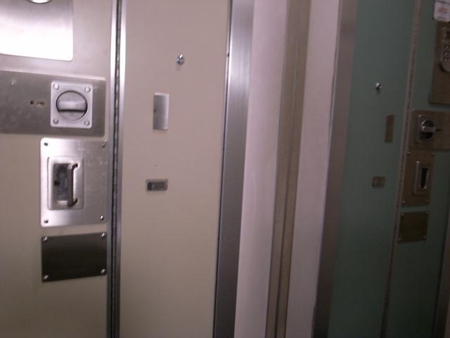 寝台特急あけぼのドア扉個室B
