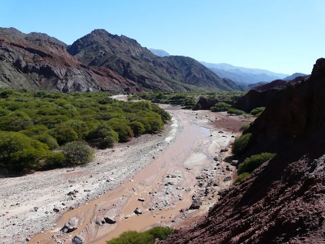 And occasionally there were some dryish river beds