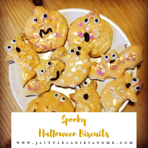 Spooky Halloween Biscuit Recipe