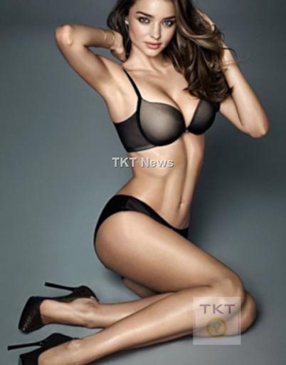Miranda Kerr đẹp từng centimet trong trang phục nội y 1