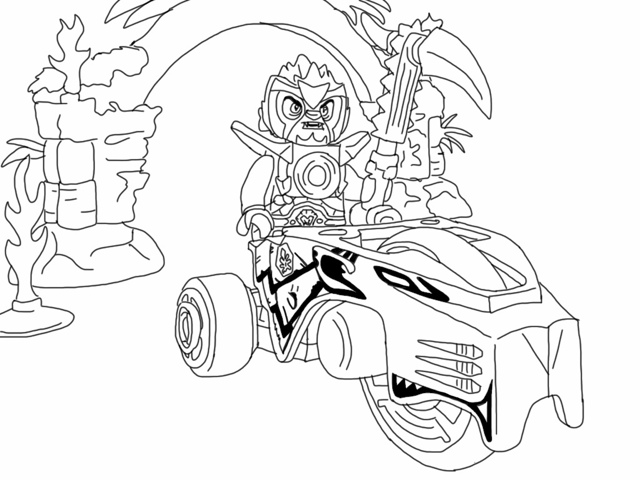 lego chima coloring pages - photo#12