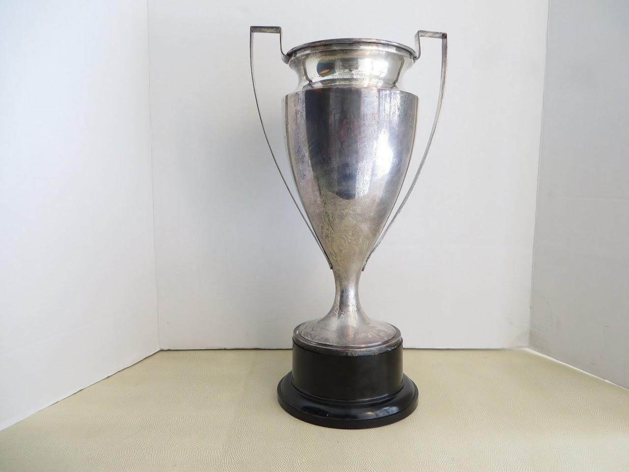 Sterling Silver Vintage Club Championship Runner Up Trophy