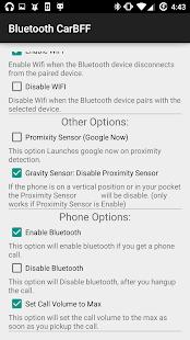 Bluetooth CarBFF - náhled