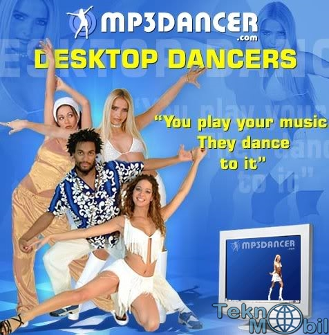 MP3 Desktop Dancer İndir