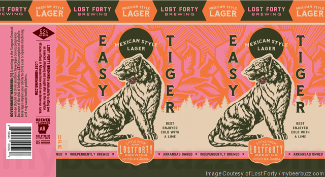 Lost Forty - Easy Tiger Mexican Lager