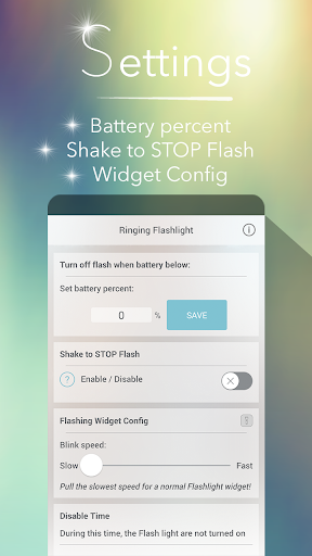 Ringing Flashlight 4.8.3 screenshots 3