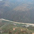Sobrevolando el cañón del Chicamocha