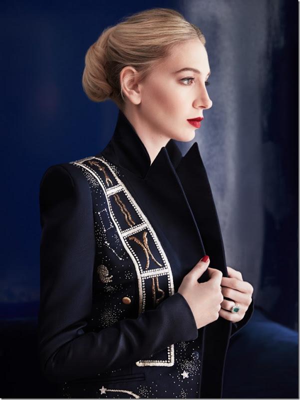 Sabine Getty  Schiaparelli Zodiac jacket 03