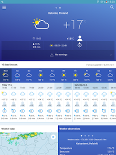 FMI Weather- screenshot thumbnail