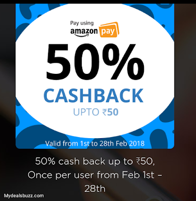 Niki app - 30 Rs Joining bonus + 50% Cashback on Recharge using Amazon pay