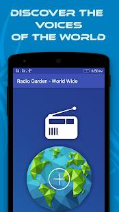 Radio Garden World Wide - náhled